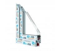 Металопластикові вікна Proflex58 Середній клас