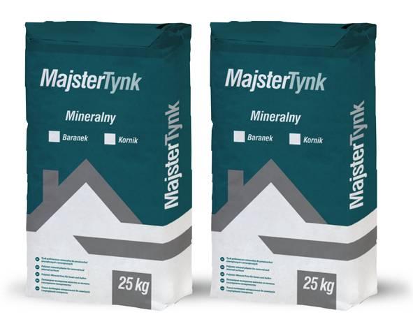 Утеплення будинків та фасадів Штукатурка мінеральна  MajsterPol